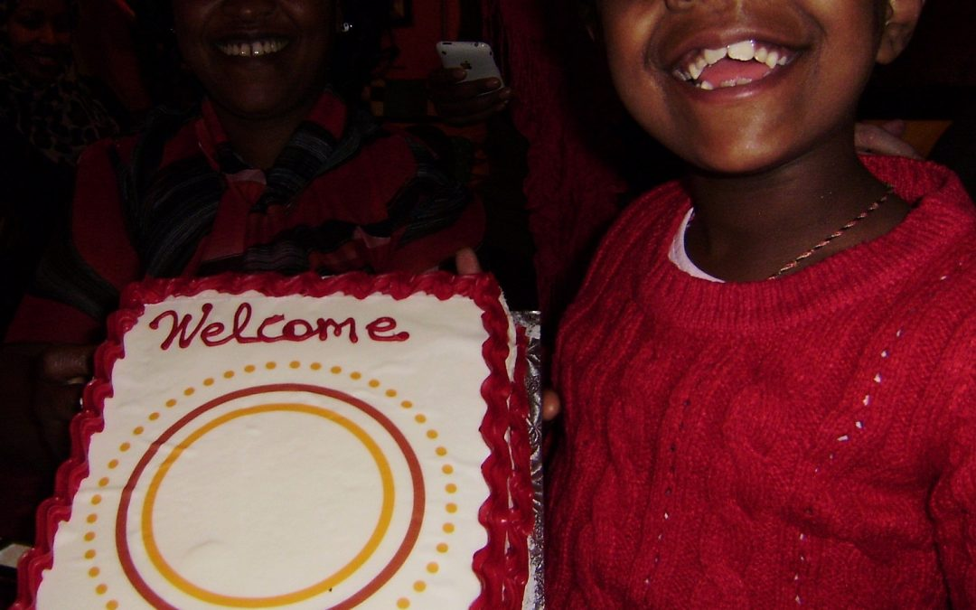 Welcome Party at the Ethiopian House