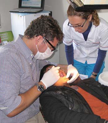 Dr. Bruno Vendittelli visits Argentina