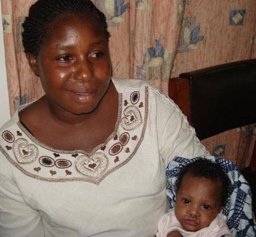 Josephine before - Ghana
