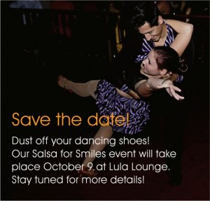 Save the Date: Salsa for Smiles!