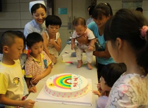 Family Cleft Camps in China