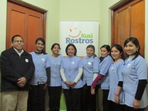 TF visits the CRCs in Peru