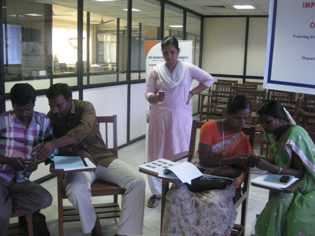 E-Tech Mobile App Training held in India