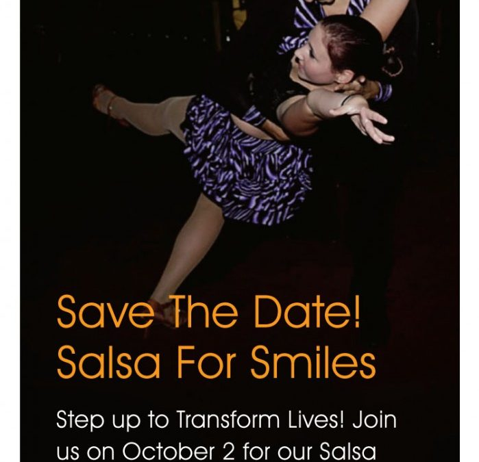 Save the Date: Salsa for Smiles 2014