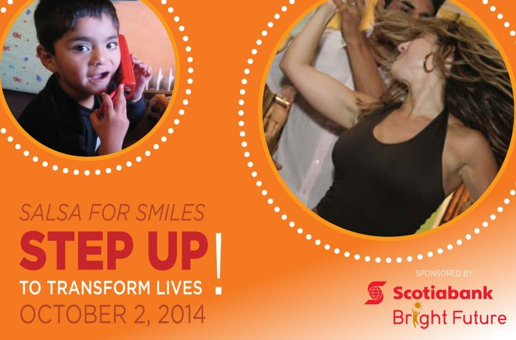 Join us on October 2 for Salsa for Smiles