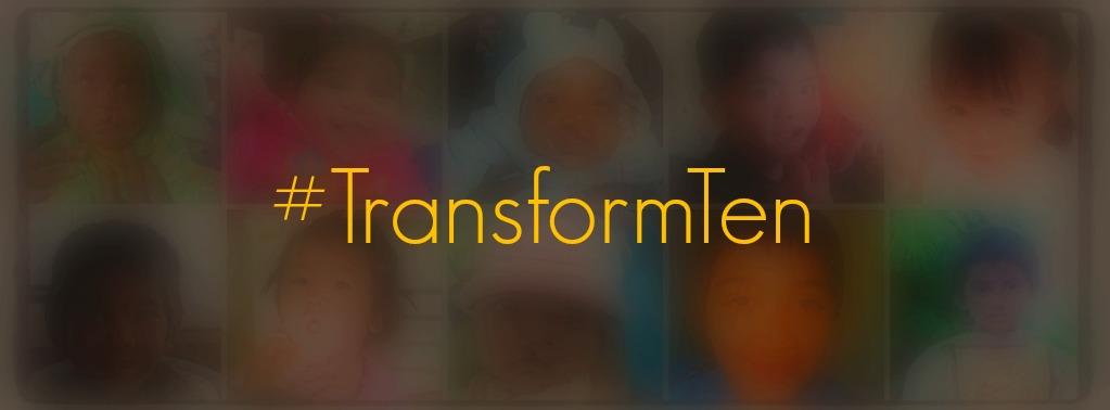 Transform 10 Lives this GivingTuesday