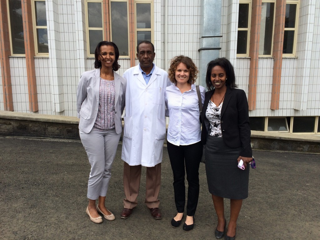 Ethiopia team with Laura