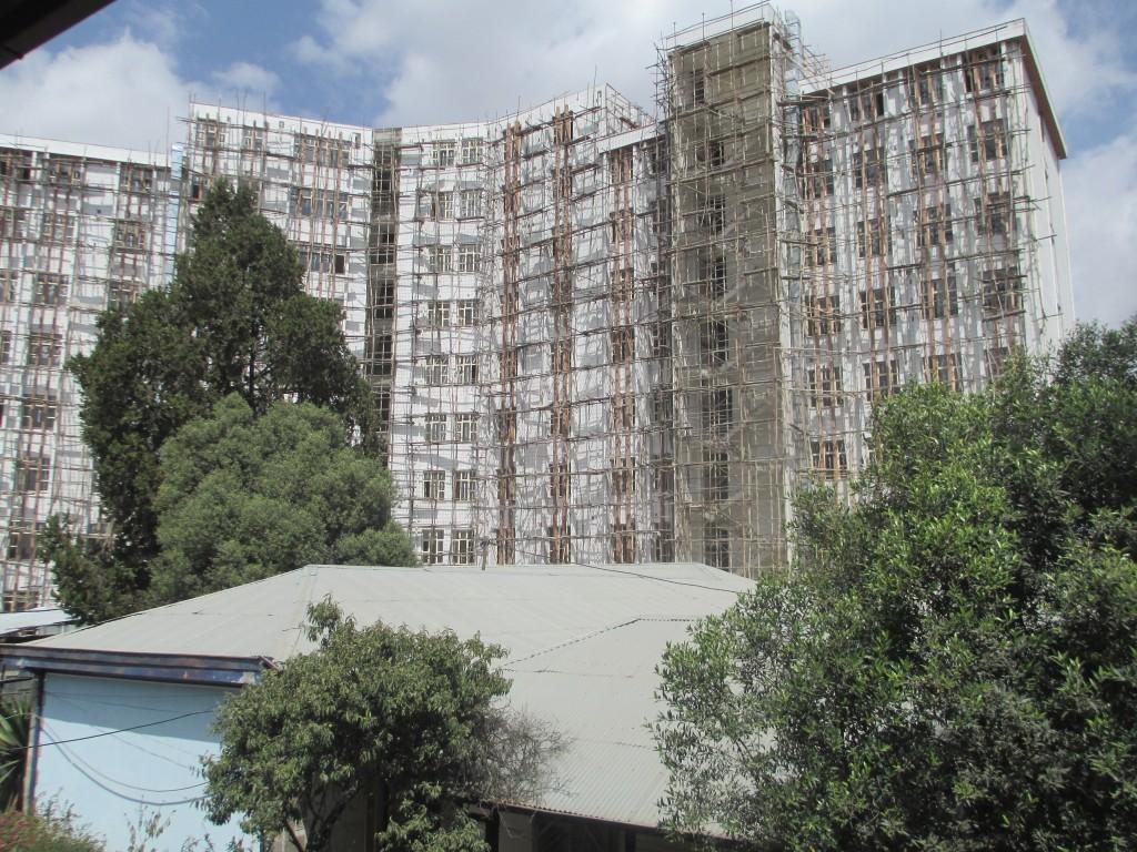 The new Yekatit 12 hospital
