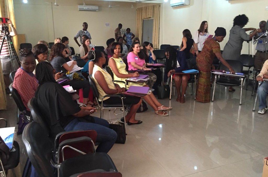 Advanced Speech Training in Ghana