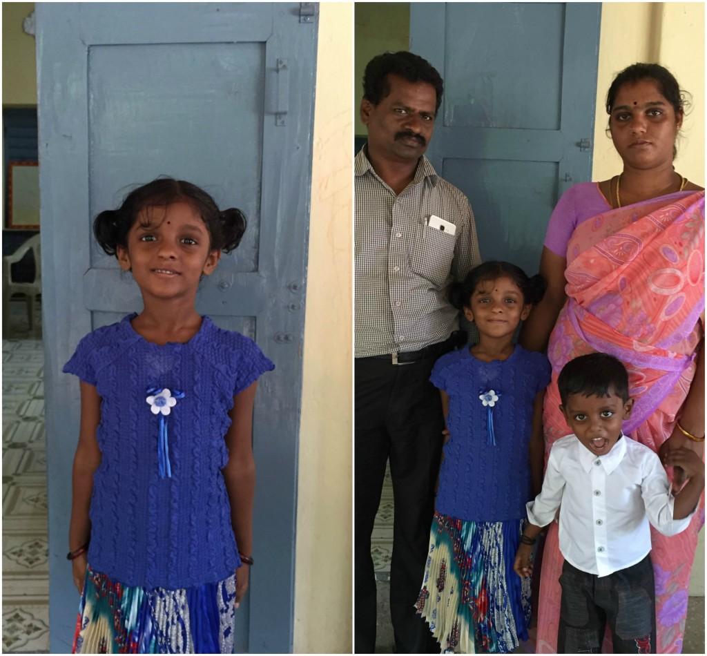 Subharanjana and family