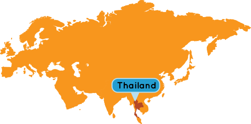 Thailand & Laos Map