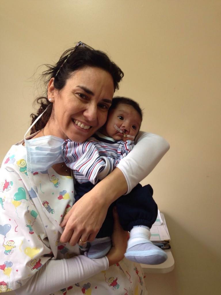 Silvia with Jeremiah
