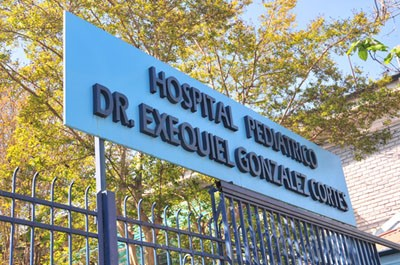 Dr. Salazar's hospital is one of the busiest in Santiago, Chile.