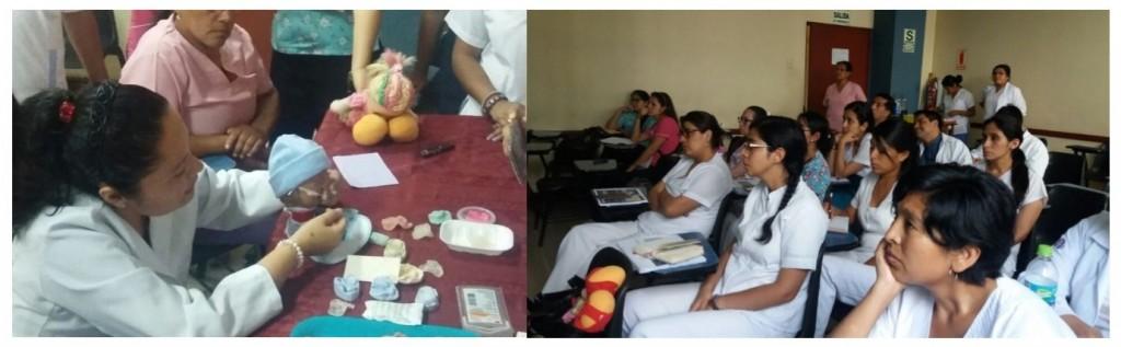 - Dr. Lourdes Motta in action