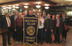 Transforming Faces & Toronto Sunrise Rotary Club