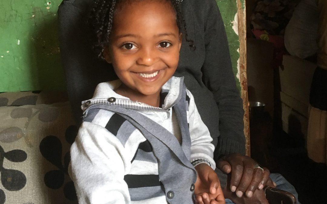 Meet 6-year-old Mekdelawit from Ethiopia