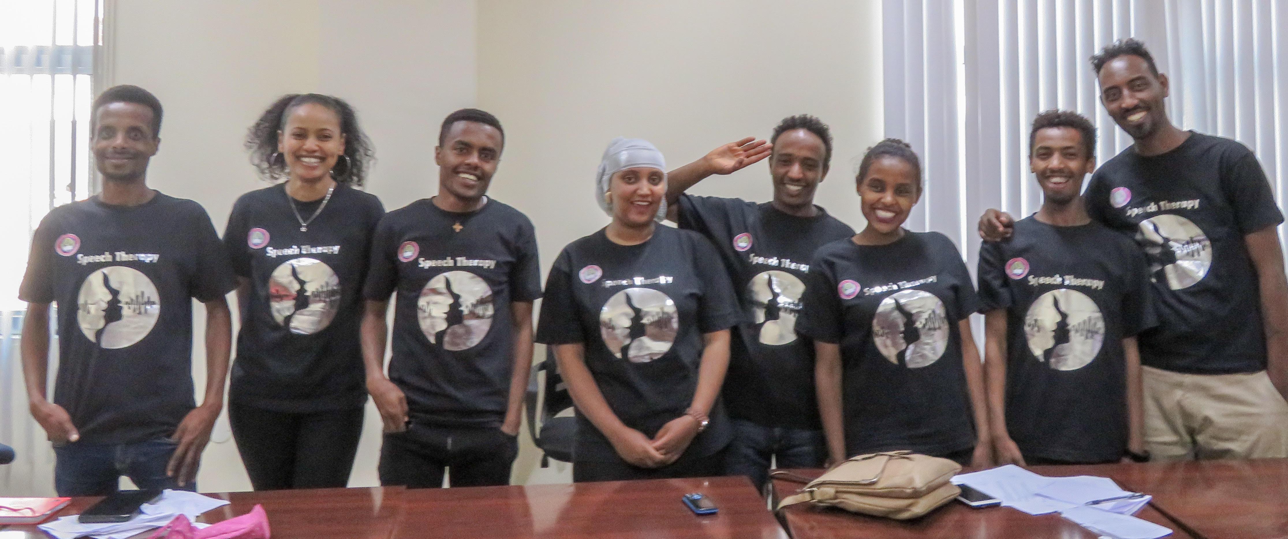 SLP Students Ethiopia Addis Ababa University - Transforming Faces